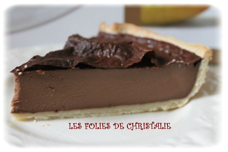 Flan chocolat 11