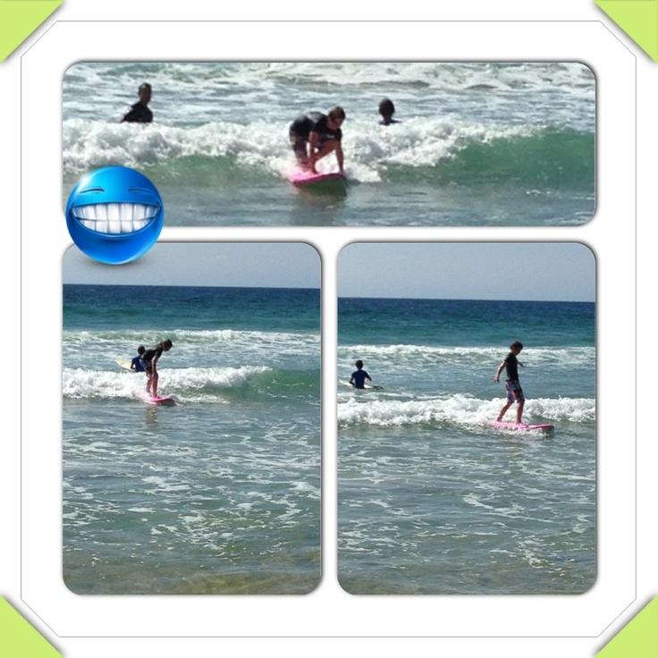 Josh surfing @ MM Beach