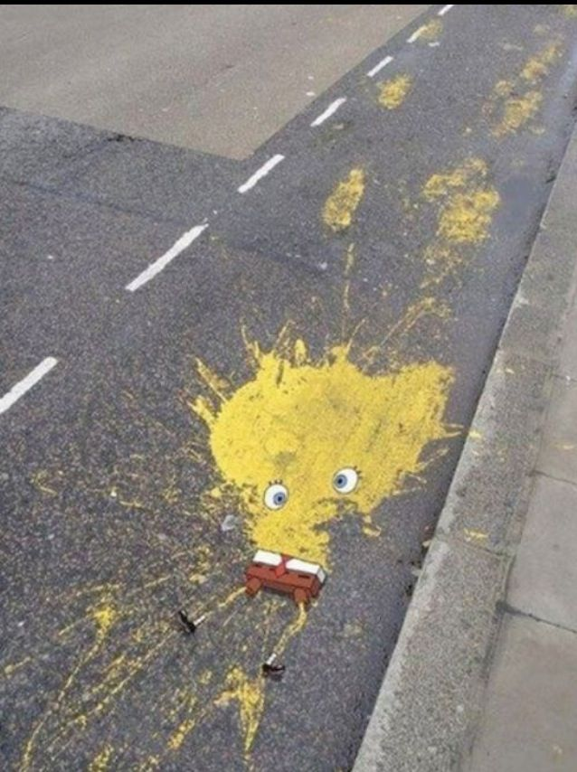 Sponge bob splat!