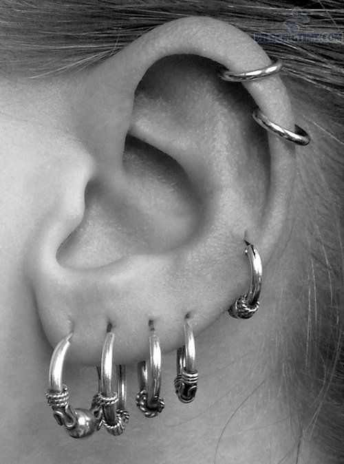 116 Best Images About Piercings And Stretched Ears On Pinterest