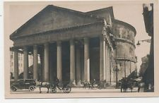 C1279 1940 RPPC PHOTO POSTCARD ROME ITALY PANTHEON
