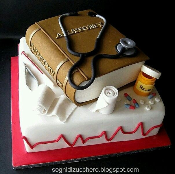 20 Best Doctor Cakes Images On Pinterest Conch Fritters Birthdays