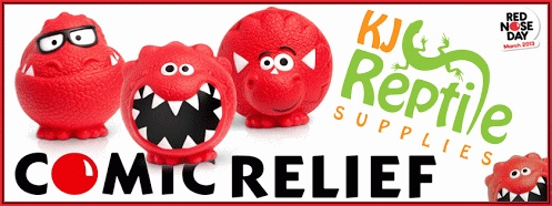 Comic Relief  KJ Reptile Supplies - https://plus.google.com/113643367791373691781 Google+