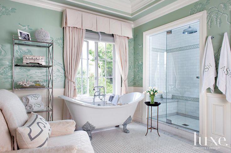 luxe interiors design interiors badezimmer pinterest. Black Bedroom Furniture Sets. Home Design Ideas