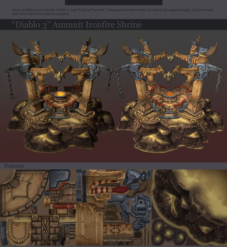 Show your hand painted stuff, pls! - Page 6 - Polycount Forum