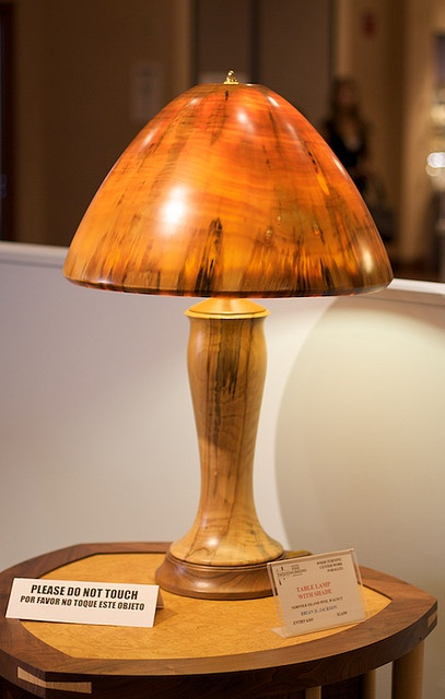 17 Best Images About Turned Wood Lamps On Pinterest