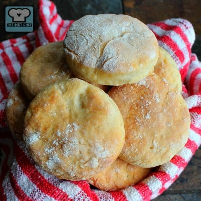 Ripped Recipes - Two Ingredient Sixty-Five Calorie Biscuits - Healthy, simple, delicious, biscuits that are 65 calories per biscuit....and take only 15 minutes to make