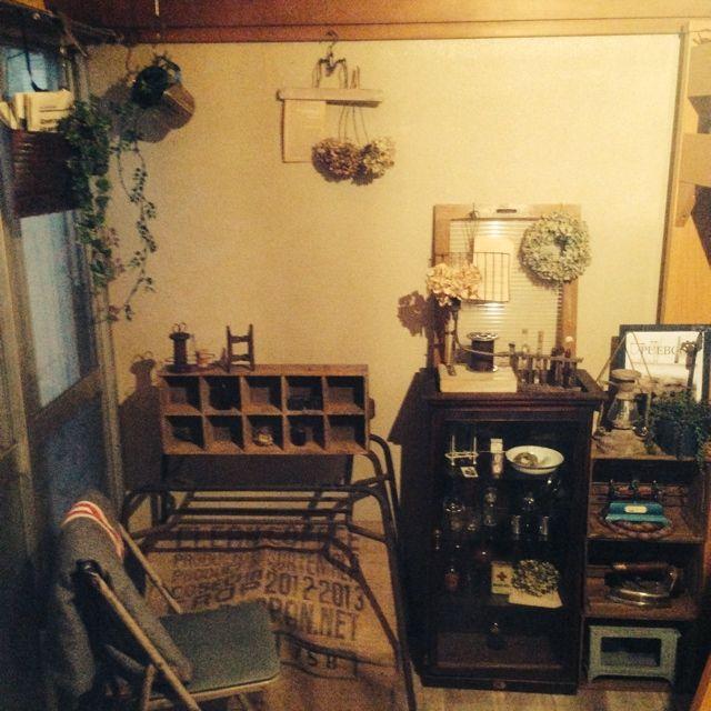賃貸アパート/6畳和室…などのインテリア実例 - 2014-05-06 01:51:38   RoomClip(ルームクリップ)