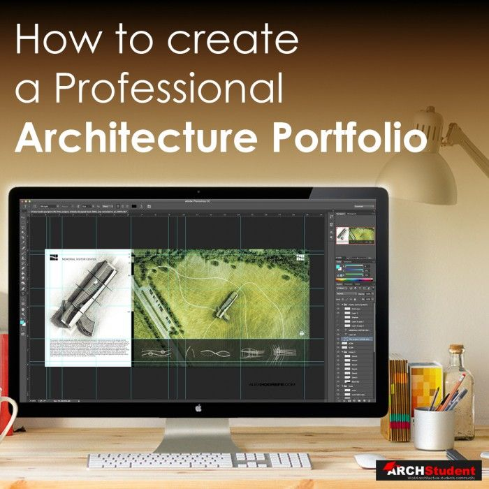 How to create an Architecture Portfolio | Photoshop Architectural Tutorials