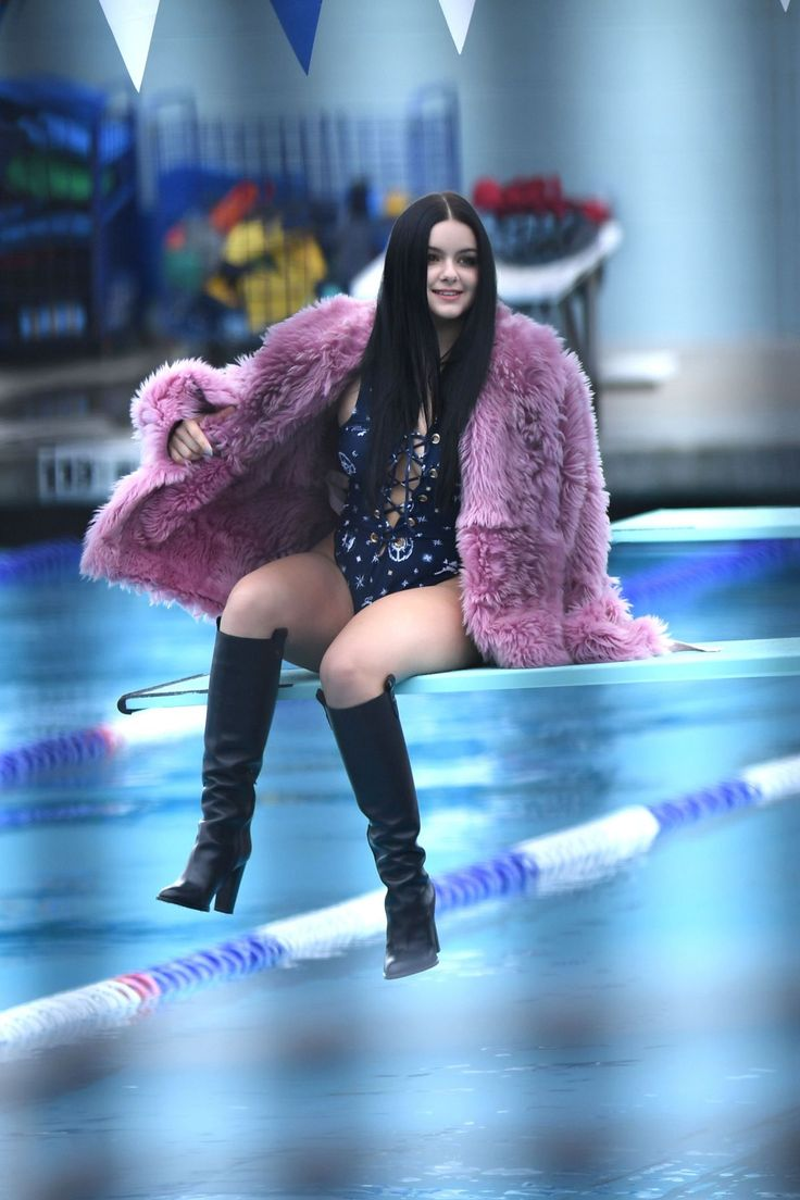 ARIEL WINTER in Swimsuit on the Set of a Photoshoot in Los Angeles 10/29/2016