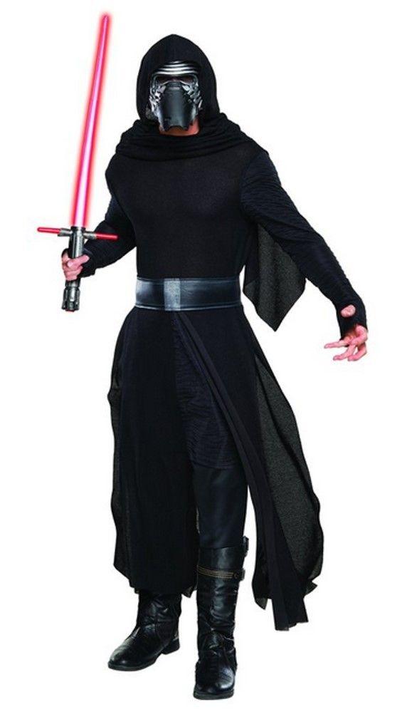 5% OFF for SHARING Star Wars 7 Das Erwachen der Macht Deluxe Kylo Ren Herren Kostüm