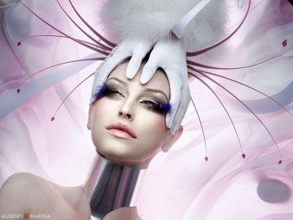 Calendar 2010 for Omega-Print by Aleksey Marina, via Behance