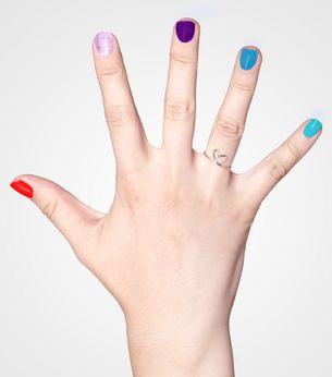 Crayola's nail polish collection