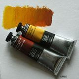 Using oil paint, which dries slowly, gives you plenty of time to blend and mix colors.