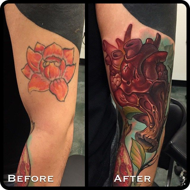 heart new school cover up arm tattoo by timmy b best tattoo ideas new school tattoo. Black Bedroom Furniture Sets. Home Design Ideas