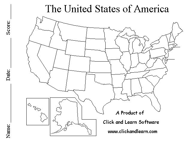 Learning Tools 50states.com
