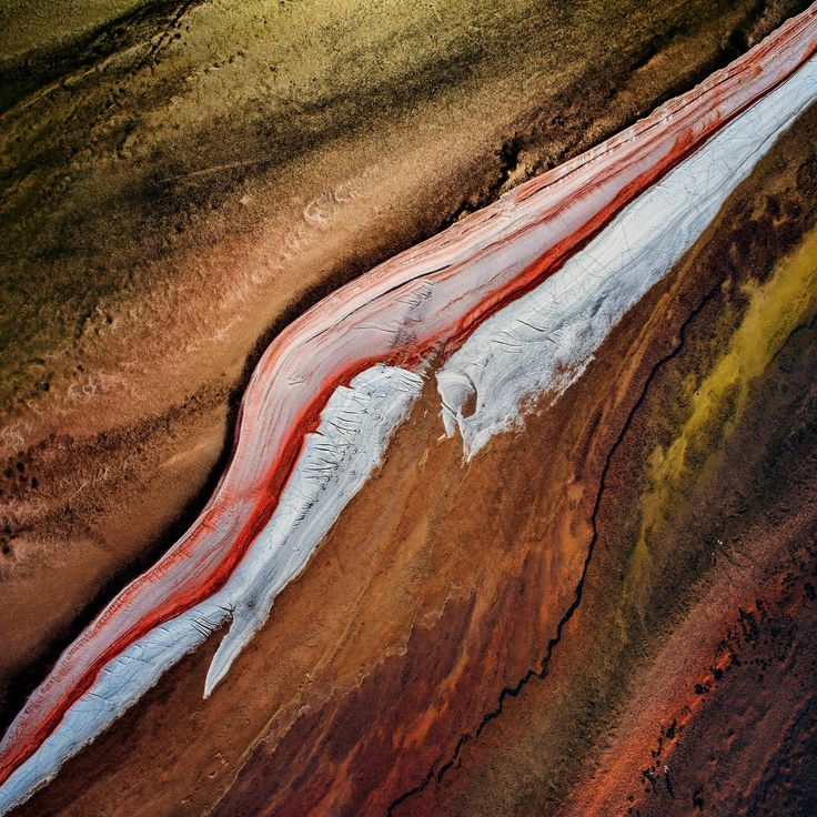 Lake Eyre from the air in pictures Landscape