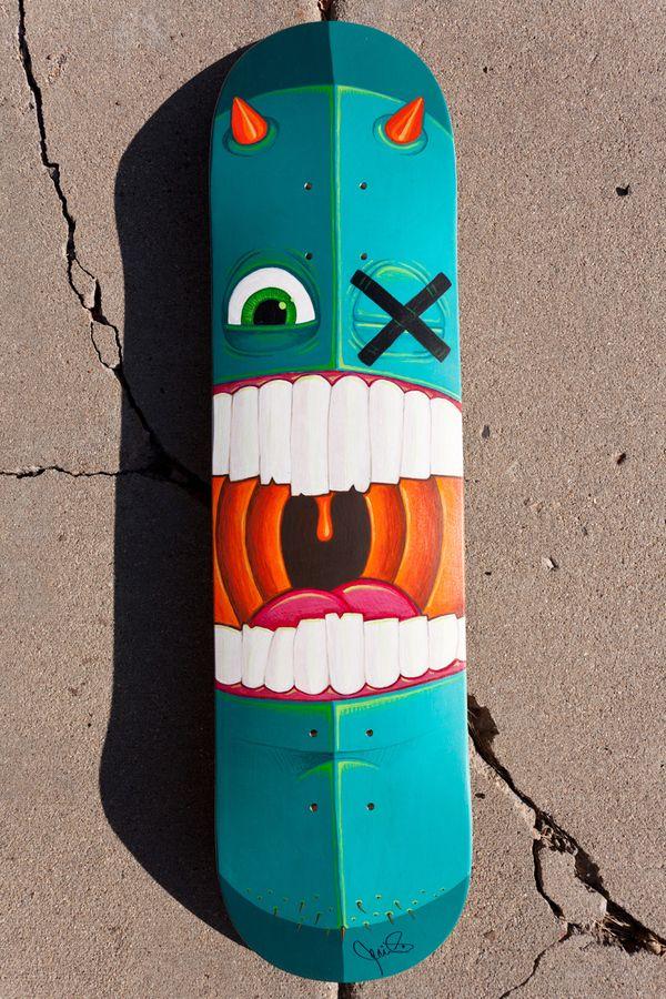 2011 Bordo Bello Deck by jerimy brown in Showcase of Cool and Unusual Skateboard Designs