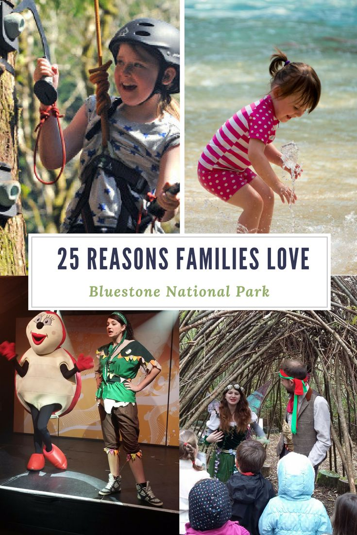 There are hundred's of reasons why Bluestone National Park Resort is a great choice for a family holiday. Here are just 25 reasons why we think your little ones will love it! Click here to find out more.