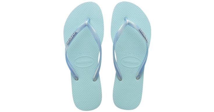 Women's Slim Logo Metallic Sandal Color: Blue Size: 11-12 - Brought to you by Avarsha.com
