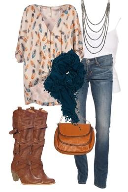 winter: Cute Fall Outfits, Idea, Style, Dream Closet, Scarf, Fall Winter