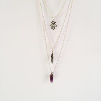 Indie Necklaces - Giraças #indie #necklace #quartz #covetme