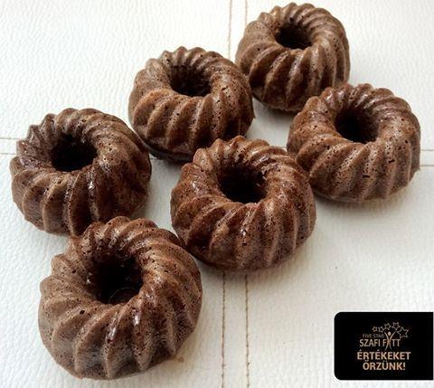 Mini kakaós kuglóf