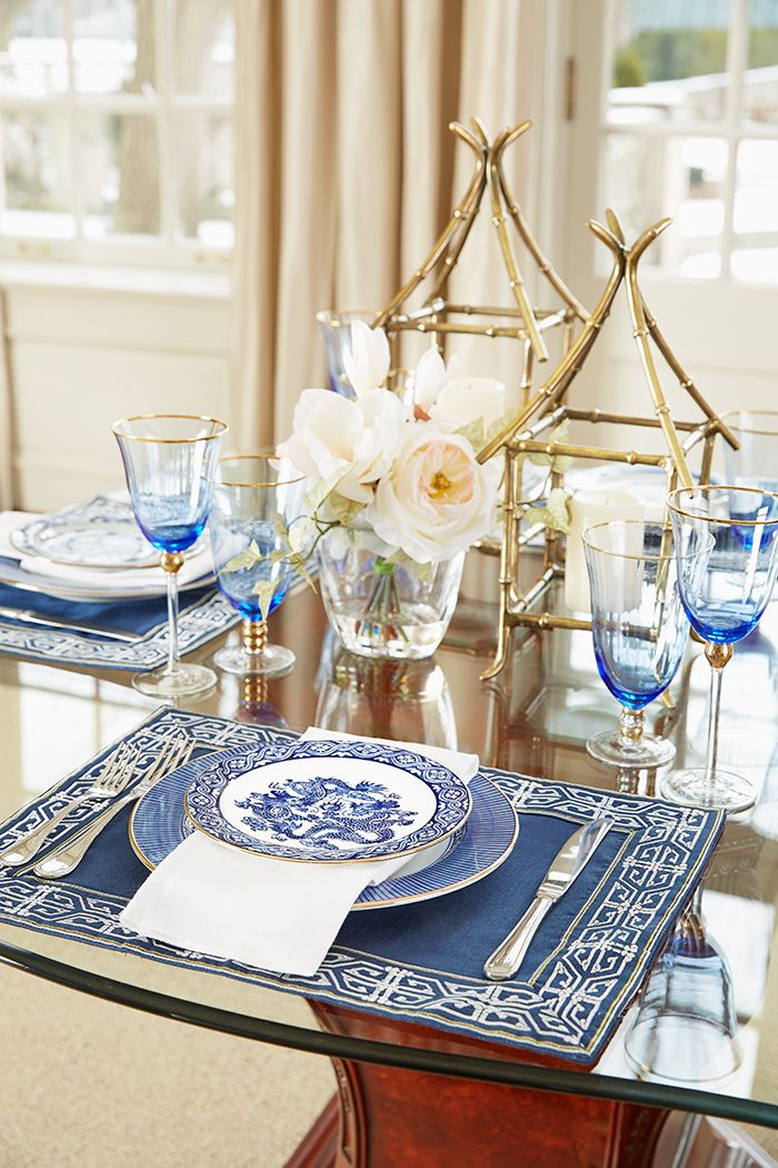 Classic Blue & White | Tabletop Home Decor