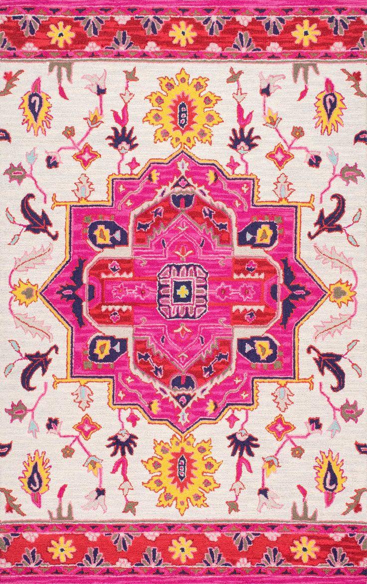 This Is Rugs USAu0027s Savanna Hand Hooked Wool Herati Medallion Rug!    Interior Decor Luxury Style Ideas   Home Decor Ideas