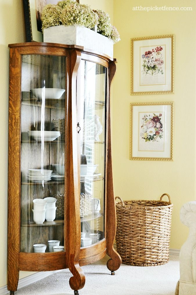 17 Best Ideas About Antique China Cabinets On Pinterest | Antique