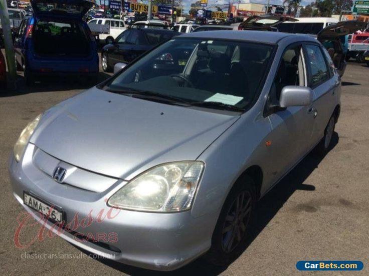 2002 Honda Civic 7TH GEN VI Silver Automatic 4sp A Hatchback #honda #civic #forsale #australia