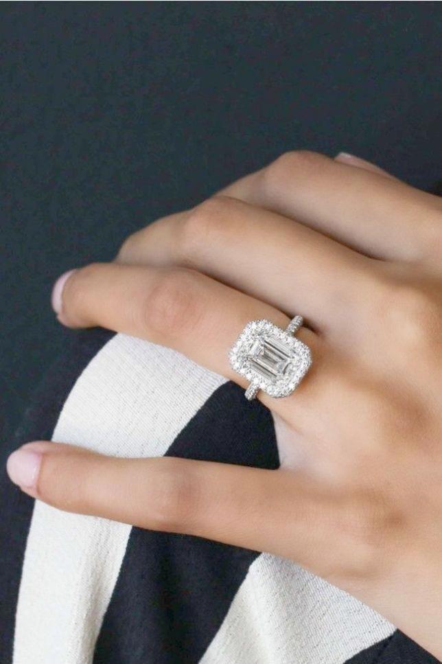 3888651ae Vintage Emerald Cut Engagement Rings Emerald Cut Engagement Rings Kay  Jewelers #vintageweddingrings