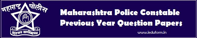 Maharashtra Police Constable Previous Year Question Papers Maha Police Sample Papers 2017 / Download Maharashtra Police Model Papers for Constable Exam