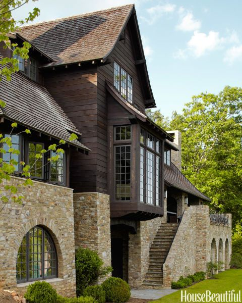 289 best images about home exteriors on pinterest house for North carolina mountain house plans