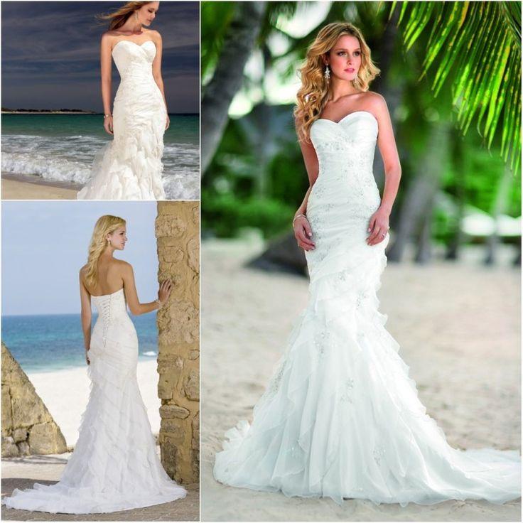 Wonderful Beach Wedding Dresses
