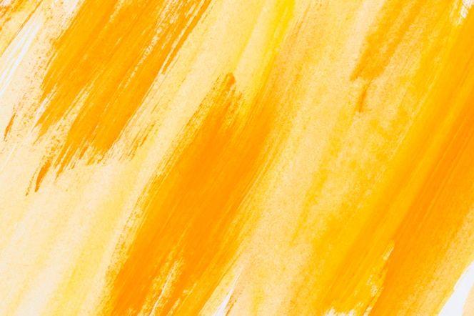 Descarga Gratis Abstracto Pintado Fondo Acuarela Amarillo En