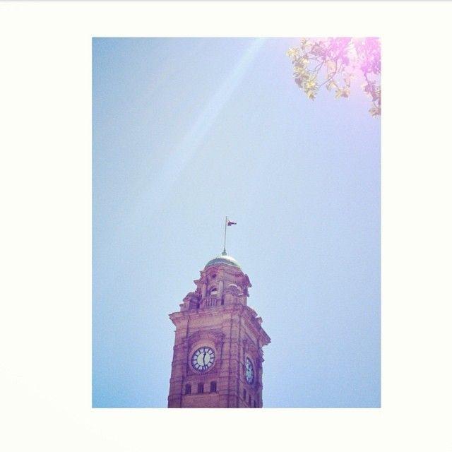 Hobart GPO on a beautiful autumn day via https://instagram.com/p/19nIMiL6X8/ #Hobart #Tasmania