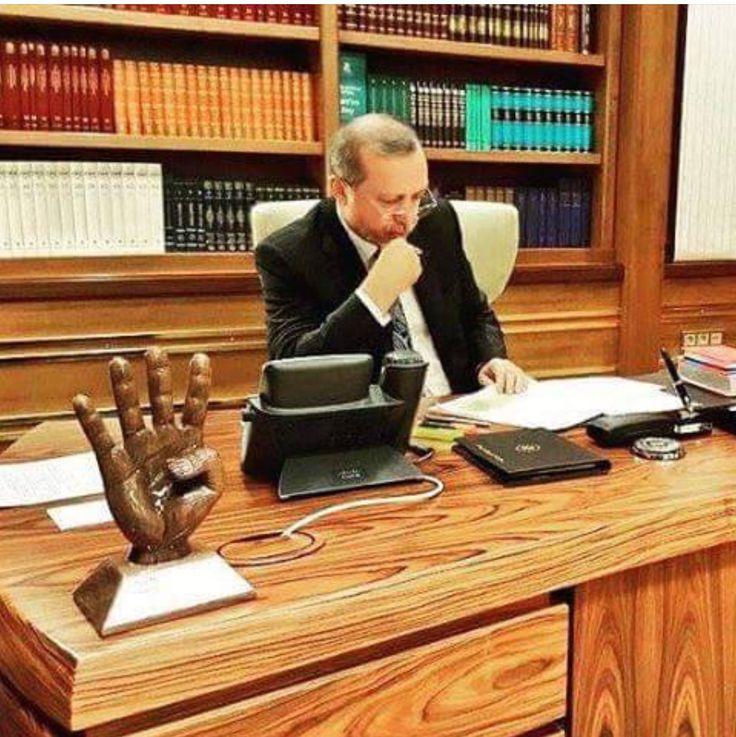 President Erdogan, my love.