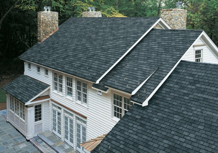 Gaf Grand Slate Shingles In Welsh Gray Shingle Roofing