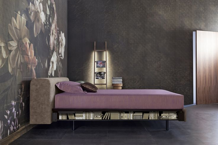 Bravo Shelf with its stylish headboard makes your bedroom a glamorius nest.