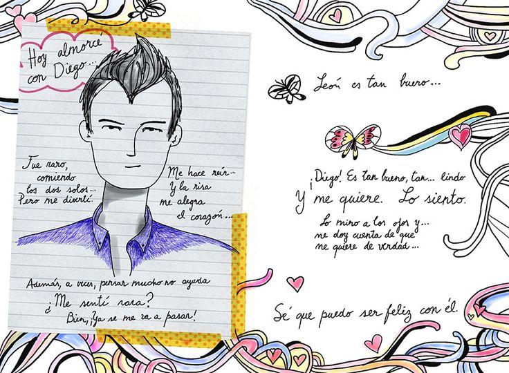 Картинке в дневнике виолетты