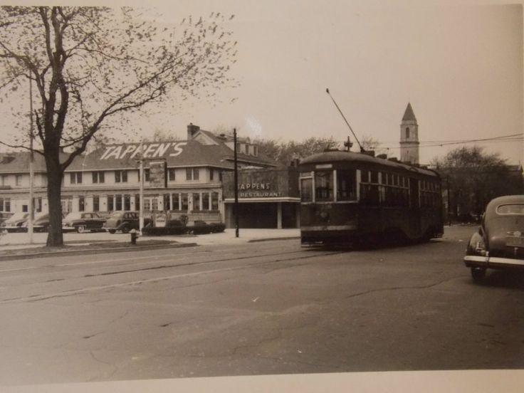 1951 Sheepshead Bay Brooklyn Trolley Nyc Photo By Ten S Restaurant