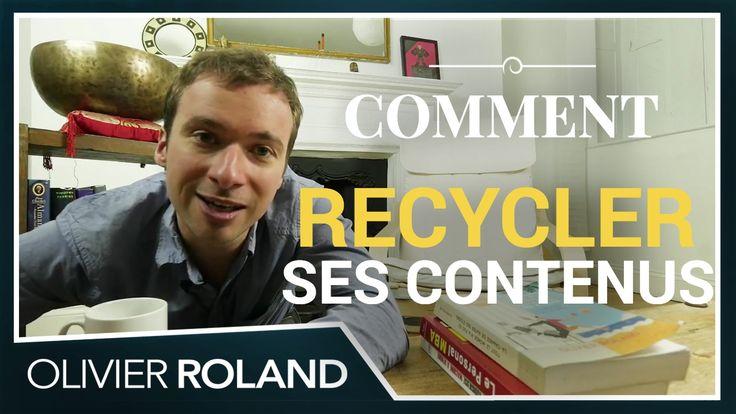 Ce que Franck Ferrand peut vous apprendre sur le recyclage créatif de votre contenu (299/365) : https://www.youtube.com/watch?v=wNtHHNJS5Ks ;) #Franck #Ferrand #recyclage #recycler