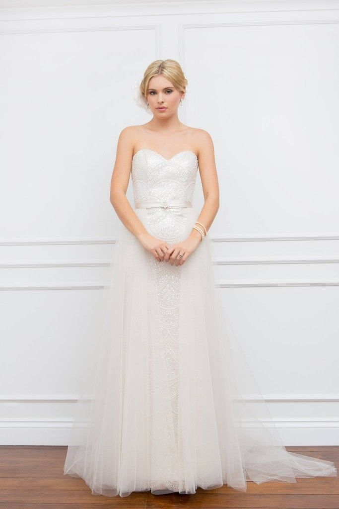Emma with tulle overskirt - Brides Selection