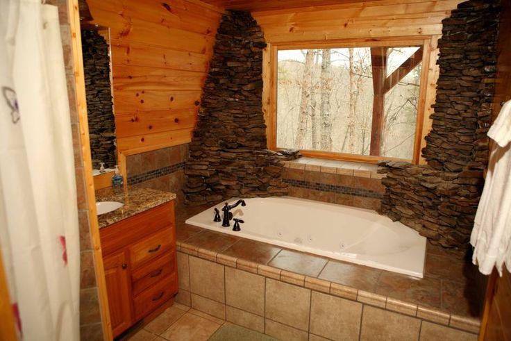 Plánuje někdo ve Vašem okolí přestavbu koupelny? Pošlete mu tuto malou inspiraci :-) http://www.drevostavitel.cz/clanek/srub-interier/2383