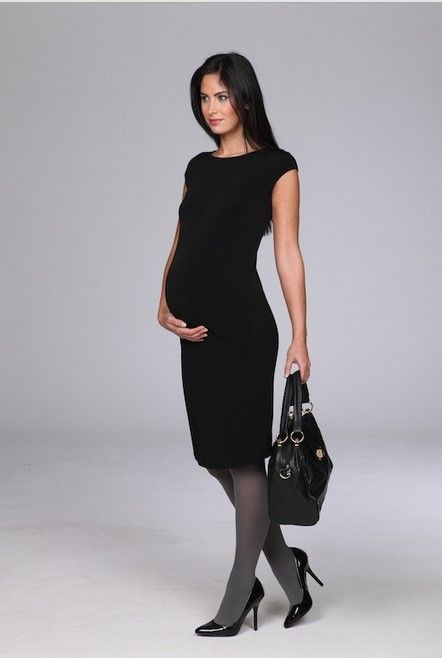 Where to buy tres jolie little black maternity dresses for office wear in  UK?