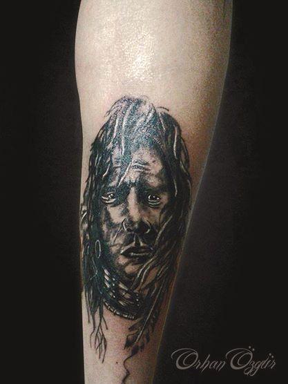 kızılderili dövmesi(indian tattoo)