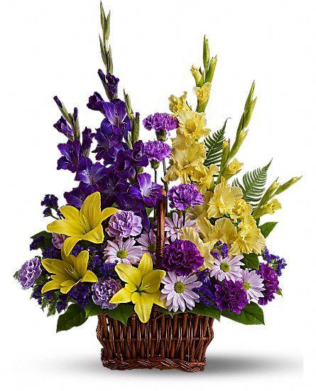 Basket of Memories Flowers