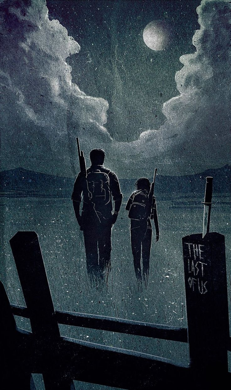 The Last of Us - This a gorgeous image based on the game. I find this image disturbingly haunting... Love it of course!
