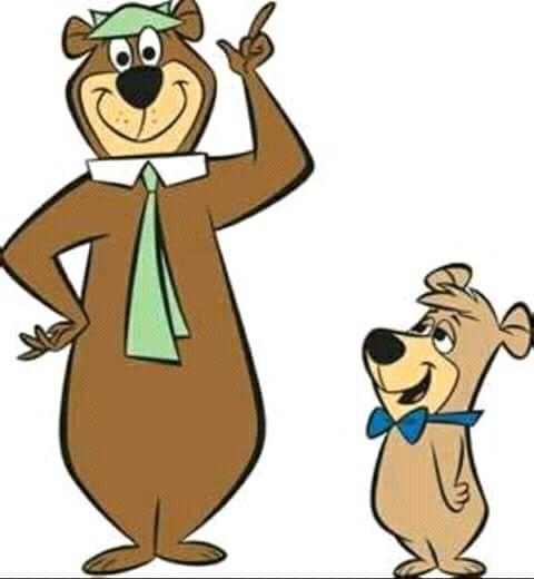Image result for yogi bear and boo boo